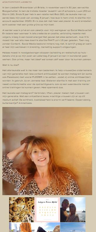 Insprirerende Nieuwkomer op Instagram